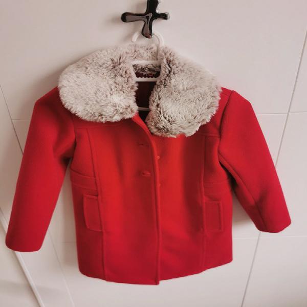 Abrigo paño marca marta y paula sin usar