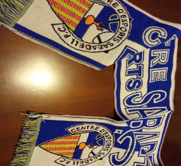 Ce sabadell scarf football futbol bufanda sciarpa calcio