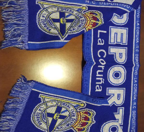 Deportivo de la coruña scarf football futbol bufanda