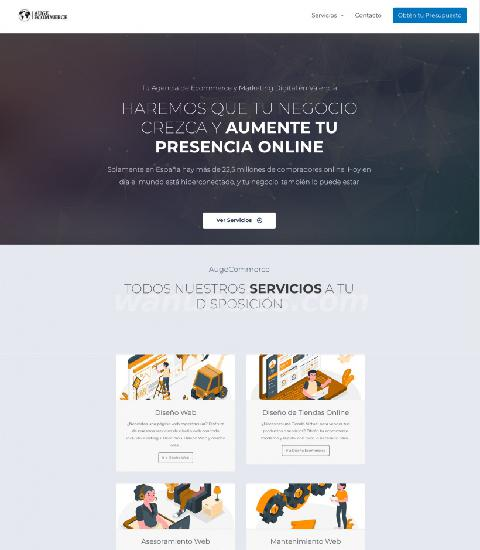 Diseño de páginas web profesionales con wordpress en