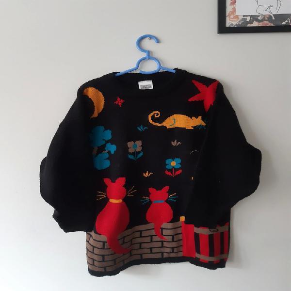 Jersey lana vintage