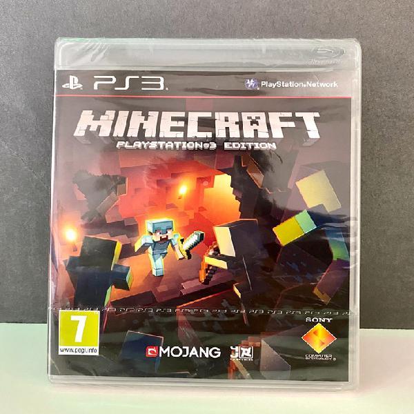 Minecraft ps3 edition precintado