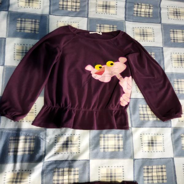 Pijama pantera rosa