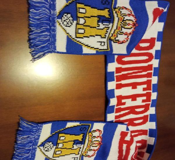Sd ponferradina scarf football futbol bufanda sciarpa calcio
