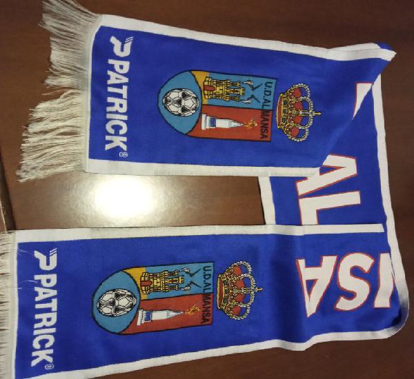 Ud almansa scarf football futbol bufanda sciarpa calcio