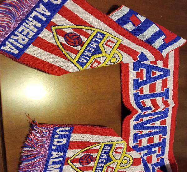 Ud almeria scarf football futbol bufanda sciarpa calcio