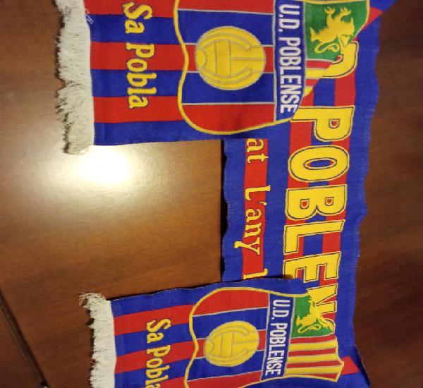 Ud poblense mallorca scarf football futbol bufanda sciarpa
