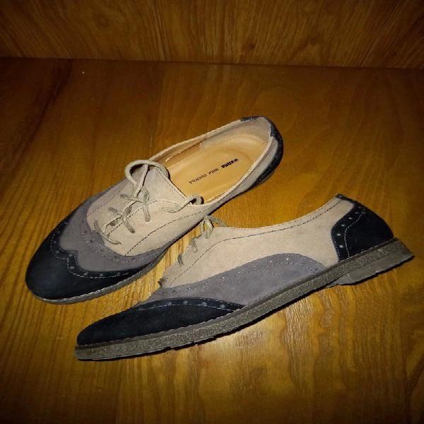 Zapatos planos estilo oxford de wanna