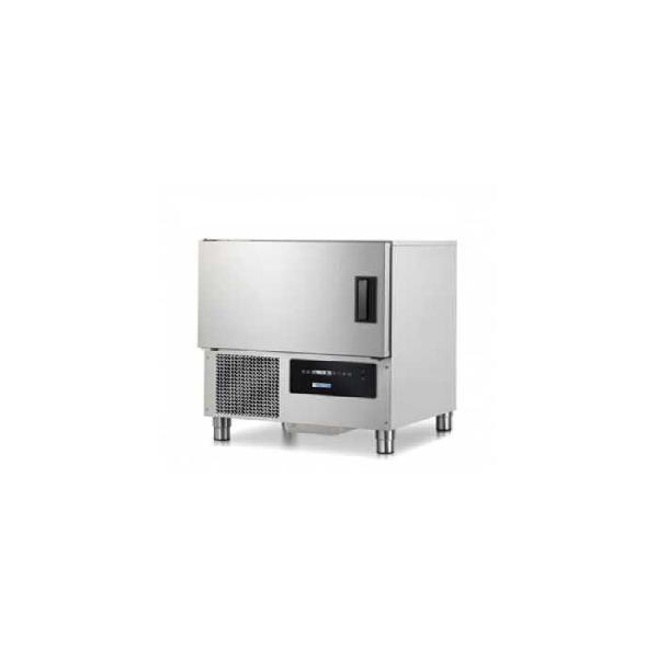 Abatidor de temperatura rápido 5 bandejas gn1/1 o 60x40