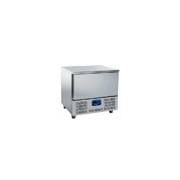 Abatidor de temperatura de 5 bandejas gn 1/1 edenox amm