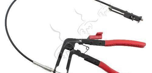 Alicate para abrazaderas con cable flexible