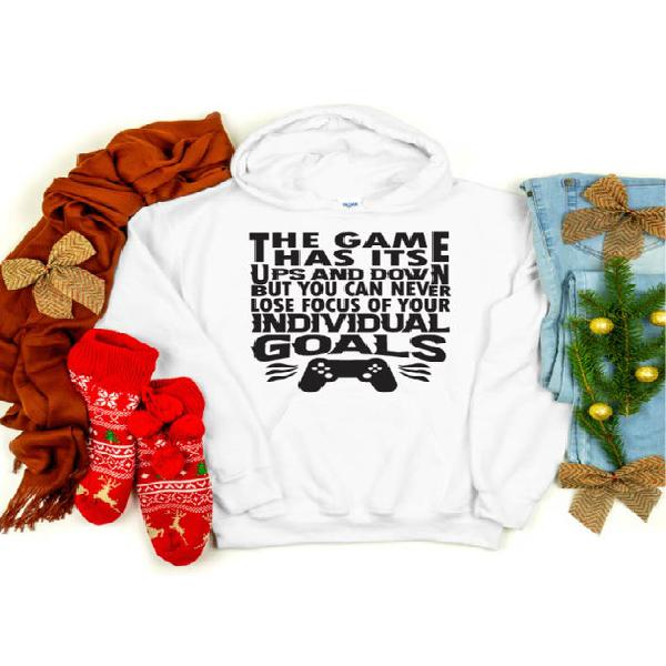 Gamer hoodie, the game has its up and down hoodie,