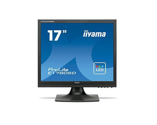Monitor idek iiyama 17 pulgadas | negro | vga | dvi | audio