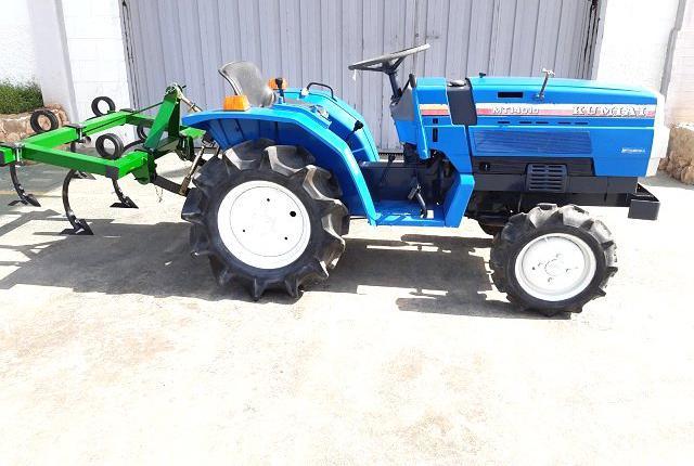 Venta de mini tractor mitsubishi mt1401d en valencia