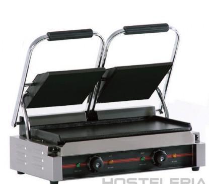 Plancha grill eléctrica