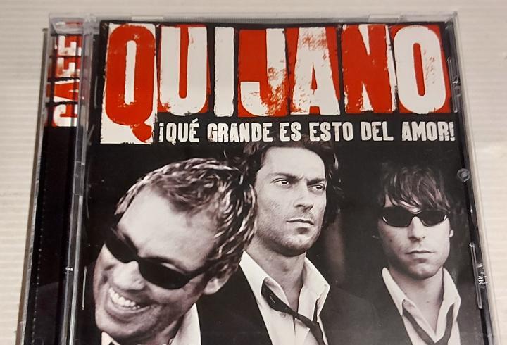 Café quijano / qué grande es esto del amor / cd - warner