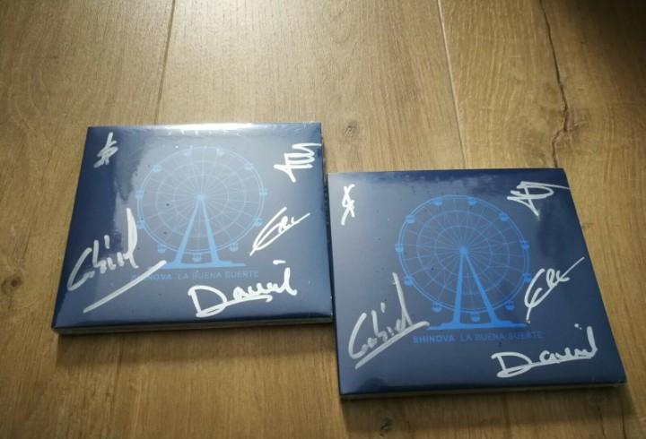 Firmado - shinova - la buena suerte- 2cds(firmado + cd