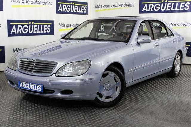 Mercedes s 600 largo v12 367cv nacional impecable '02