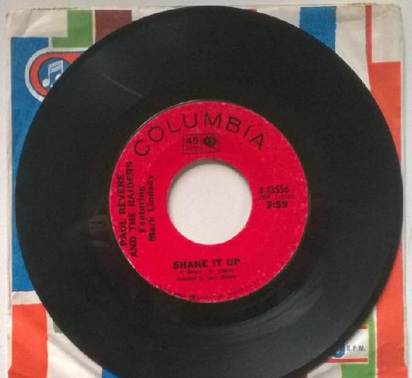 Paul revere & the raiders. shake it up/ kicks. columbia, usa
