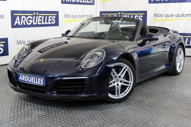 Porsche 911 carrera cabrio pdk 370cv '17