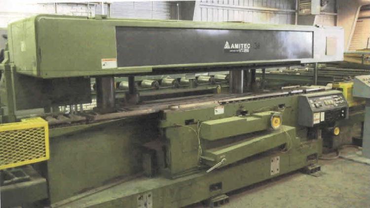 Amitec vt35s plana de corte longitudinal con carrusel