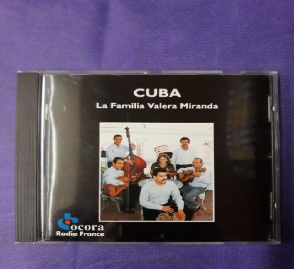 Cuba.la familia valera miranda.radio france.cd.