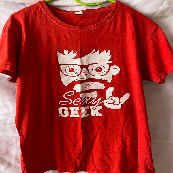 Camiseta roja Vintage