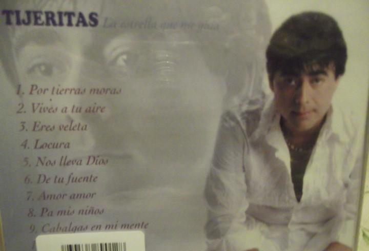 """Cd musical nuevo de tijeritas """"la estrella que me gusta"""""""