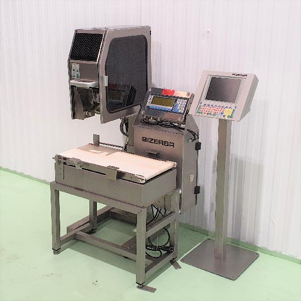 Controladora de peso bizerba gs maquinas de segunda mano