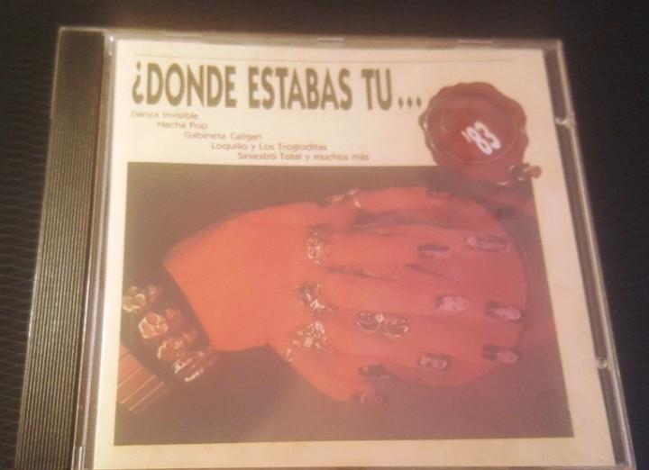 Donde estabas tu en el 83 cd 21 temas