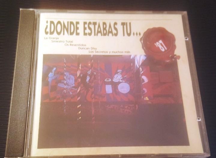 Donde estabas tu en el 87? cd 21 temas