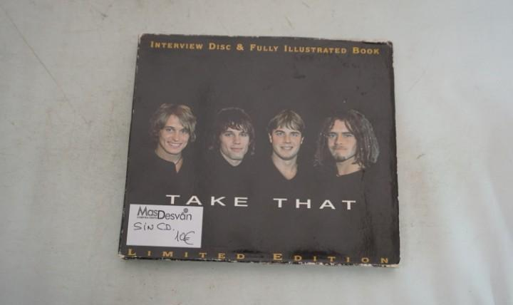 Falta el cd - take that - limited edition - interview disc &