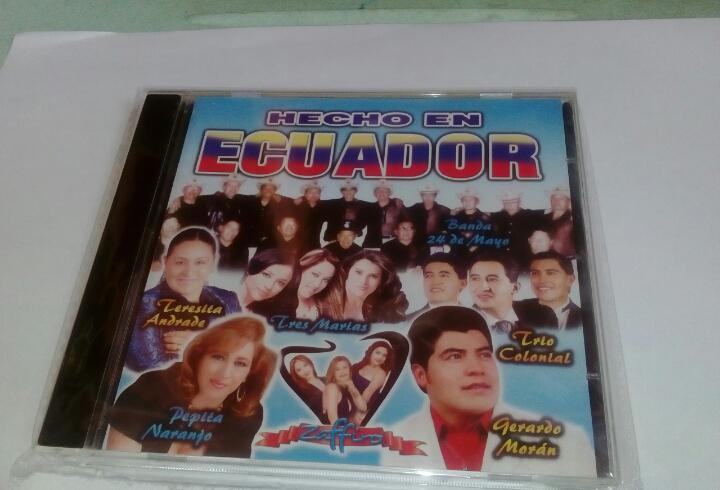 Hecho en ecuador..(cd no usado)