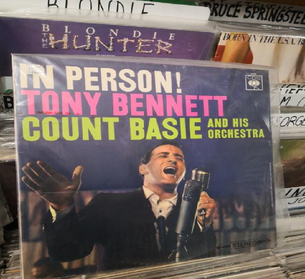 In person tony bennett count basie and his orchestra