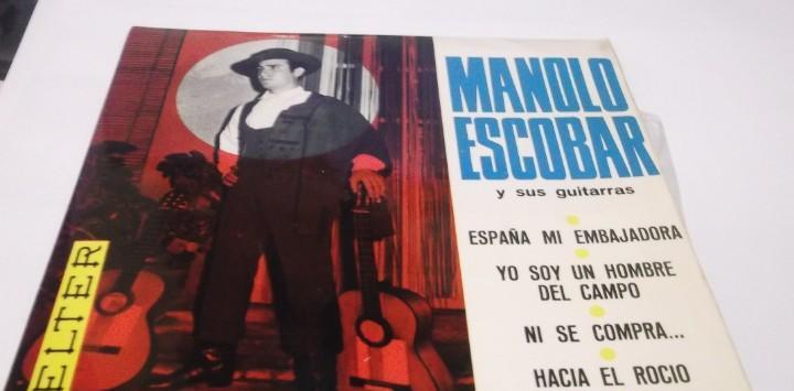 Manolo escobar y sus guitarras - españa mi embajadora/ni se