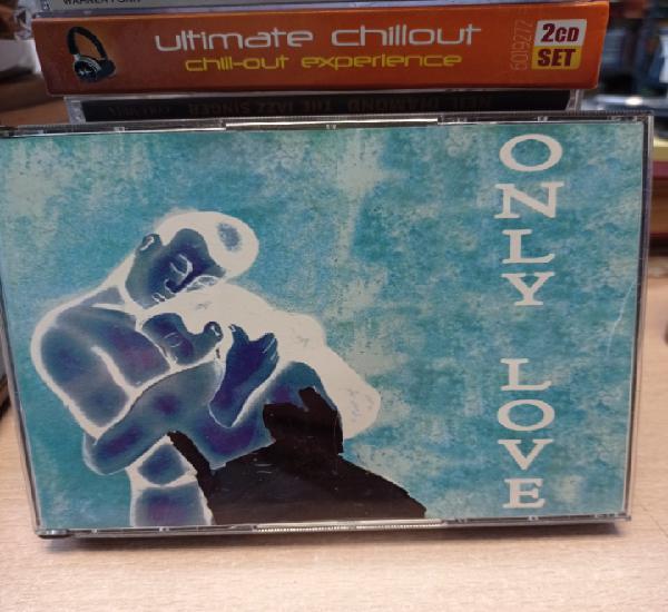Only love. (5 x cd) / star records - 2000. 60 temas de amor.