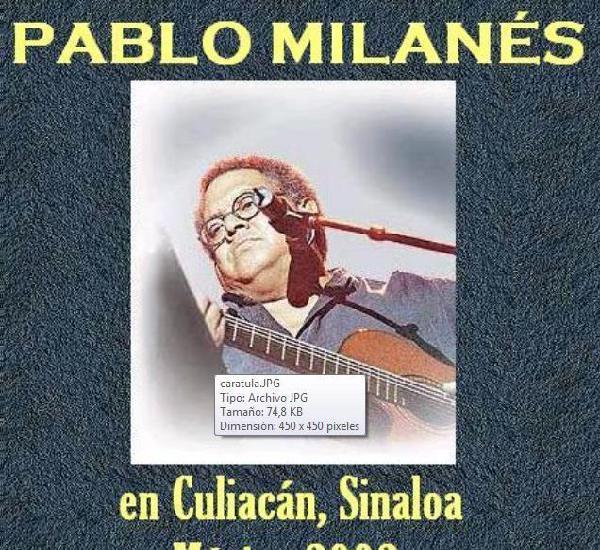 Pablo milanes en culiacán, estado de sinaloa, mexico - gira