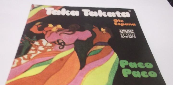 Paco paco - taka takata / ole españa-bellaphon.1972.made in