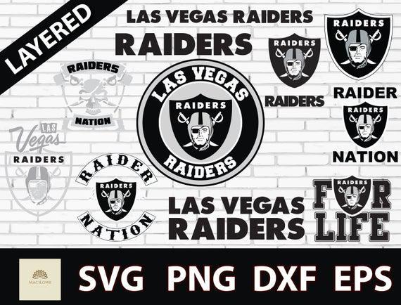 Las vegas raiders svg / megapack! las vegas raiders cricut /