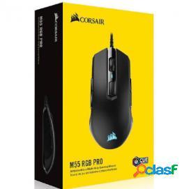 Corsair m55 rgb pro ratón gaming 12400dpi