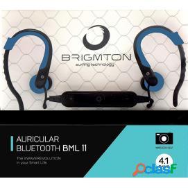 Auriculares brigmton bml 11 azul