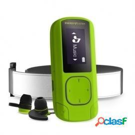 Energy sistem mp3 clip bt sport 16gb bluetooth verde