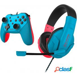 Blackfire pack auricular + mando headset neon nintendo switch