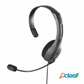 Pdp auricular mono chat gaming lvl30 con cable gris xbox one
