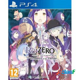 Re:zero - the prophecy of the throne ps4