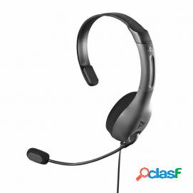 Pdp auricular mono chat gaming lvl30 cable gris ps4