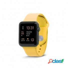 Unotec correa sport para apple watch 42/44mm amarillo