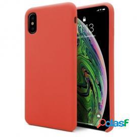 Unotec funda soft naranja para iphone xs max