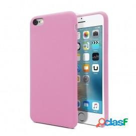 Unotec funda soft rosa oscuro para iphone 6/6s