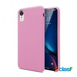 Unotec funda soft rosa oscuro para iphone xr